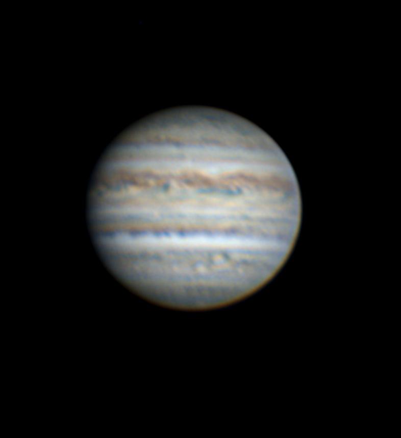 2018年7月当館撮影の木星