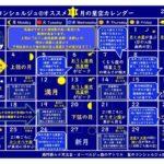 11月も毎日が星日和☆11月の星空カレンダー